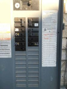 Upload a close up image of your main electrical panel