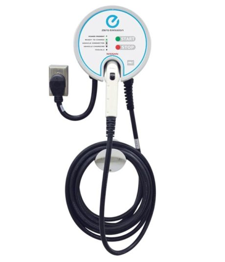 Aerovironment EVSE-RS-25-PI electric car charging station EVSE - full view