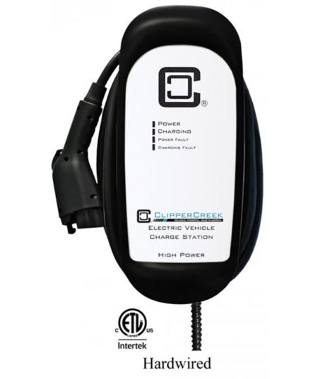 ClipperCreek HCS-40 electric car charging station - overall view