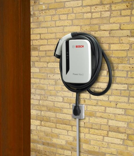 Bosch Power Max 2 EL-51866-3018 electric car charging station - installed on wall