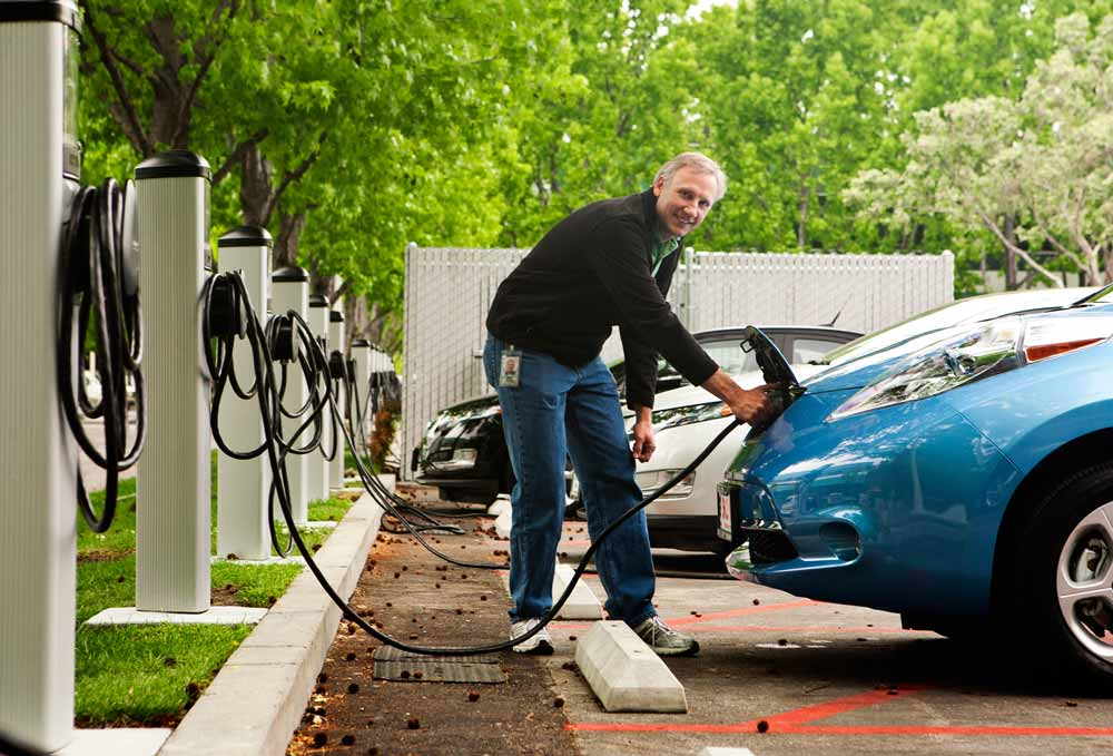 commercial electric car charger installation San Antonio Texas EVSE - Smart Charge America
