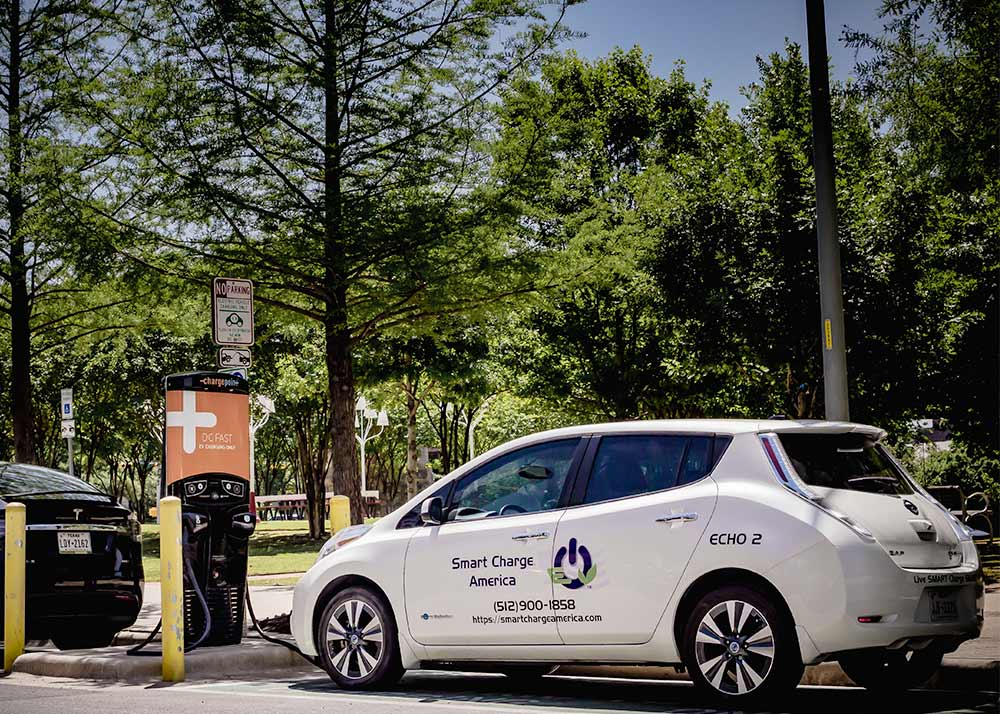 electric car charging station installation and maintenance for retail locations
