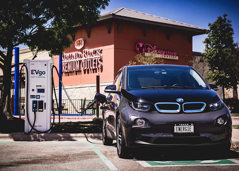electric vehicle charging station sales for commercial locations