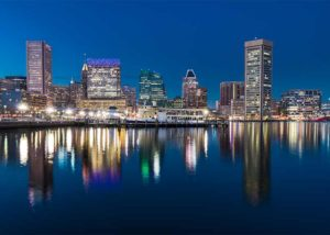 smart charge america provides electric car charging station installation in baltimore, maryland